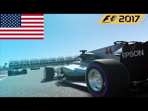 F1 2017 - 100% Race at the Circuit of the Americas, America in Hamilton's Mercedes