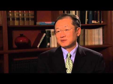 World Bank, Dartmouth President Jim Yong Kim (interview) [transcript, 윤현우]