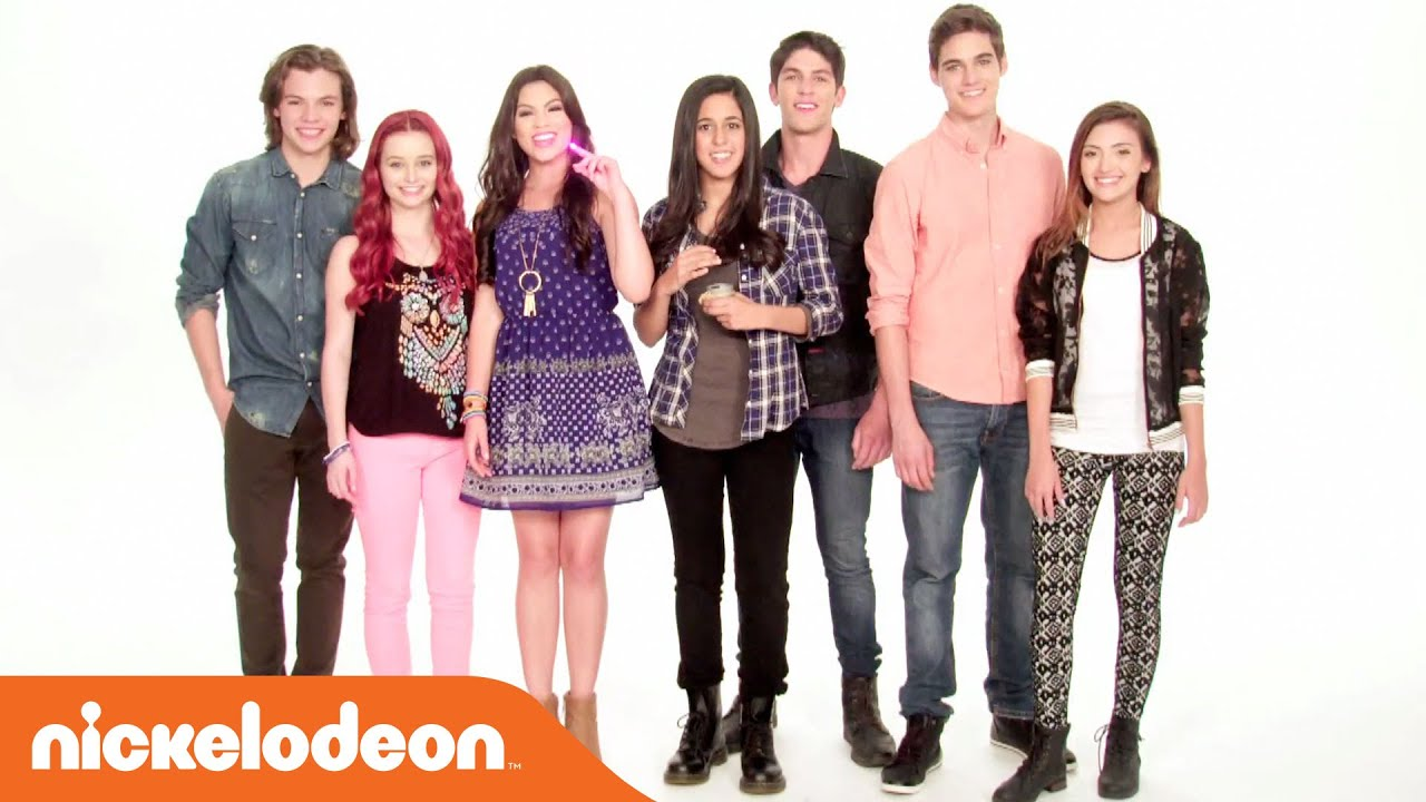 The Kitchen Cast talia in the kitchen | dance party w/ every witch way cast | nick