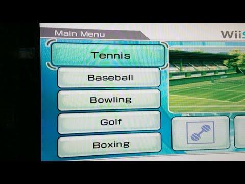 WII SPORTS TENNIS LIVE