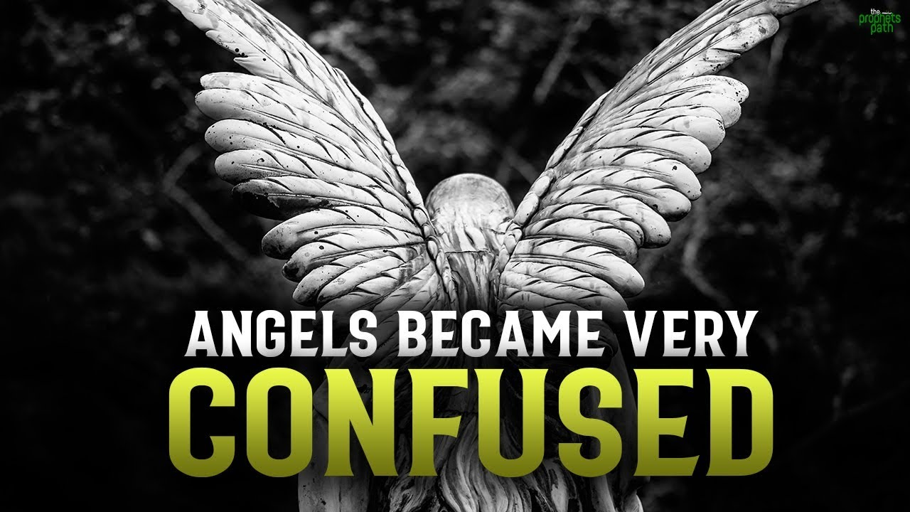 THIS STATEMENT FROM ALLAH CONFUSED THE ANGELS