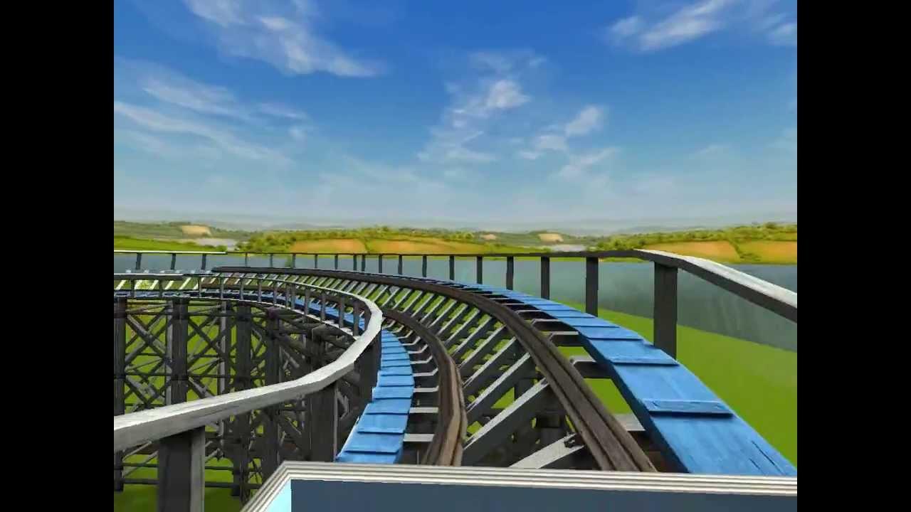 Roller Coaster Tycoon 3 Coaster Blue Streak At Cedar