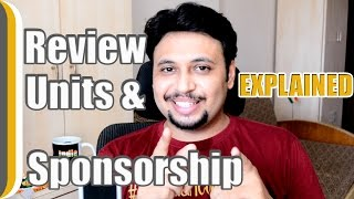 How to get Sponsorships and Review units ?