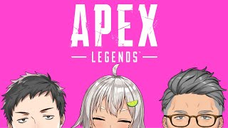 【Apex Legends】場所取りピクニックAPEXカスタム初参戦【#にじPEX/#ココプレWIN】