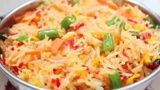 How To Make  at home Chinese Style Veg Fried Rice   वेज फ्राइड राइस   Food Junction Latest 2018