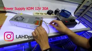 "Power Supply 'KDM"" 12V 30A"