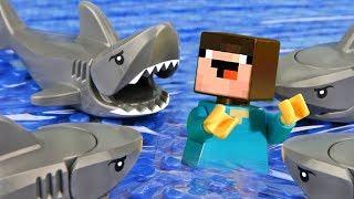 Лего НУБик vs Nintendo Switch ЧЕЛЛЕНДЖ - LEGO Minecraft Анимация и Мультики Все Серии Подряд