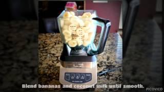 Strawberry Banana Colada Smoothie