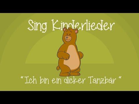 Ich bin ein dicker Tanzbär - Kinderlieder zum Mitsingen | Sing Kinderlieder