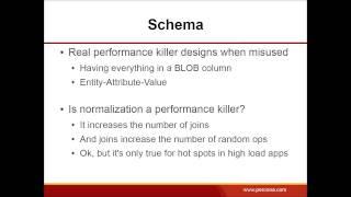 Avoiding Common Traps When Designing an Application