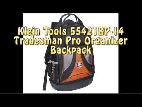 Klein Tools 55421BP-14 Tradesman Pro Organizer Backpack