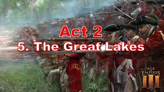 Age of Empires 3 : Act 2 Mission 5 The Great Lakes