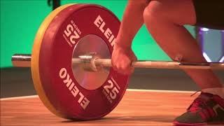 Boys 69kg Group A - 2018 European Youth Weightlifting Championships