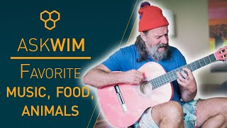 Wim Hof's favorite music, food, and animals | #AskWim