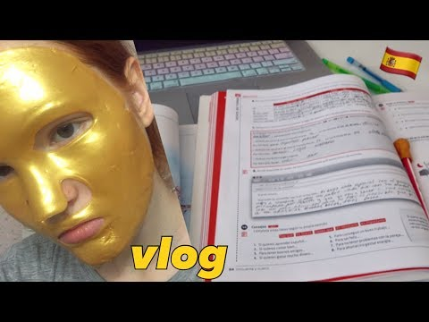 vlog???? учу испанский сама без учителя/ супер-домашний влог