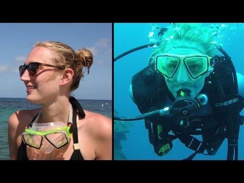 SCUBA diving adventure in the Caribbean Sea & Eating like a local in Honduras