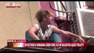Adana'da Uyuşturucu Krizine Giren Genç Kız İntihar Etmek İstedi