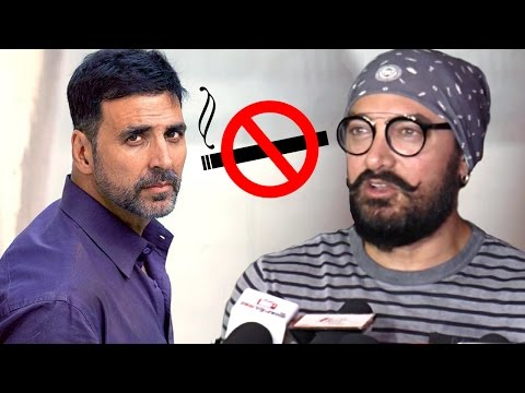 Aamir's Reply To Akshay's Comment 'Khans Should Stop Smoking'