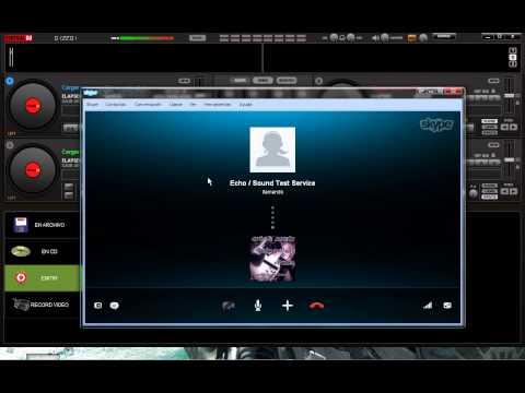 tutorial como transmitir radio usando skype y virtual dj 7 pro