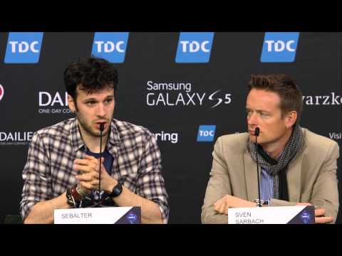 ESCKAZ in Copenhagen: Sebalter (Switzerland) press-conference