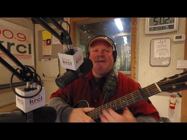 David Lane at KRCL 90.9 - Let Me Lift Your Burden