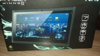 Como formatar Tablet Phaser Kinno II - PC713