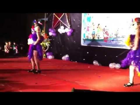 Nhảy múa-các cháu trường tiểu học châu Khê 1