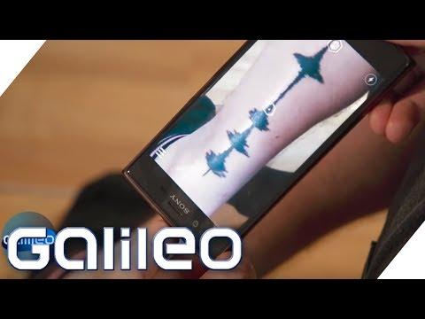 Soundwave-Tattoos: Diese Tattoos kann man hören | Galileo | ProSieben