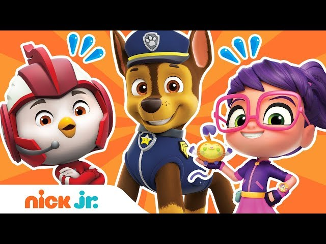 What Do Your PAW Patrol, Top Wing & Abby Hatcher Friends Have in Common? 🤔 | Nick Jr.