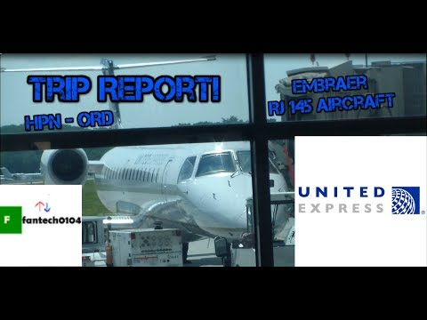 Trip Report: Embraer RJ 145 Aircraft on United Express from White Plains to Chicago