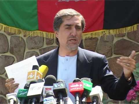 "Afghan candidate denounces ""state-engineered fraud"""