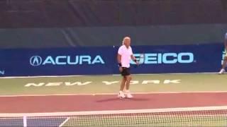 World TeamTennis: Bjorn Borg vs. John McEnroe