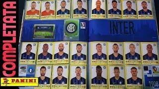 ⚽ INTER COMPLETATA! Panini Calciatori 2018-19!