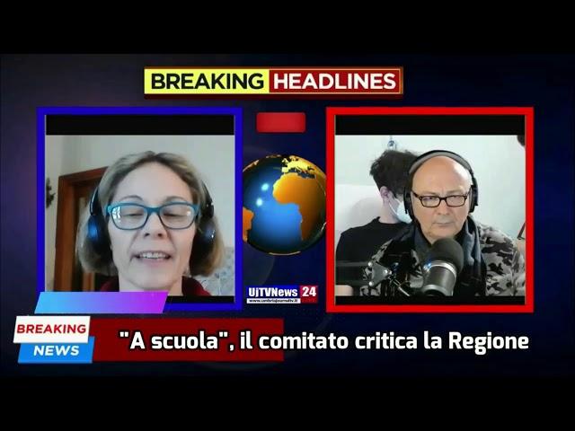 Tg Umbria+Teleterni del 15 febbraio 2021