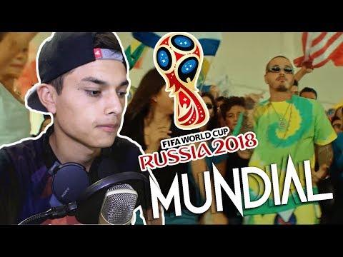J. Balvin, Michael Brun - Positivo ( Canción Copa Del Mundo Rusia 2018) Reaccion