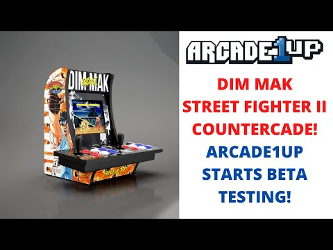 Arcade1up: Street Fighter II Dim Mak Countercade and Arcade1up Beta Testing! from PsykoGamer