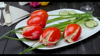 Салат «Тюльпаны» - вкусный рецепт