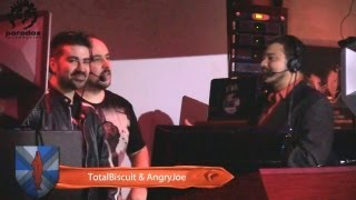AngryJoe & TotalBiscuit WotR Part 1 - Semi-Finals