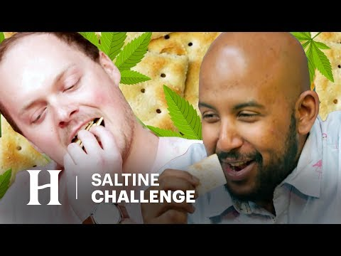We Got High and Tried The Saltine Cracker Challenge - Yeah Dude Why Not