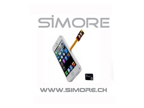 IPhone 5 Dual SIM Adapter For IPhone 5 With Protective Case - Use 2 SIM Cards On Your IPhone 5