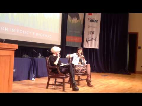 Astra Taylor, Author The Peoples Platform and Katie Alice Greer Talk  2