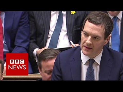 George Osborne: On course for a Budget surplus - BBC News