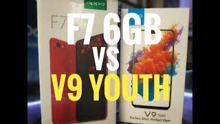 OPPO F7 6GB VS VIVO V9 YOUTH | SPEED TEST | COMPARASION ANALYSIS