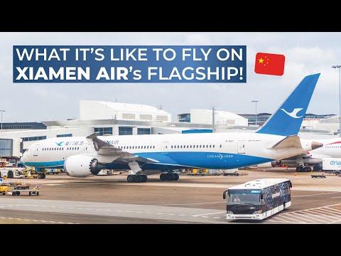TRIPREPORT | Xiamen Air (ECONOMY) | Boeing 787-8 | Beijing - Xiamen