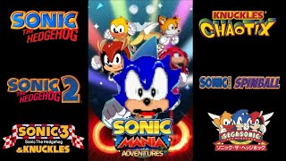 Sonic Mania Adventures Retro Edition (with voices from Sonic Ova and SegaSonic)