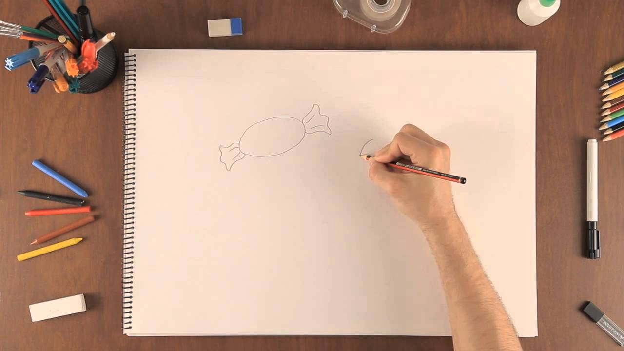 C mo dibujar un dulce aprende a dibujar como un for Dibujar un mueble en 3d