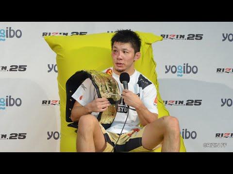 Yogibo presents RIZIN 25 斎藤裕 試合後インタビュー