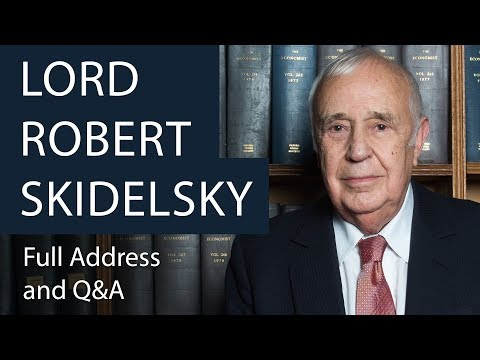 Lord Robert Skidelsky | Full Address and Q&A | Oxford Union