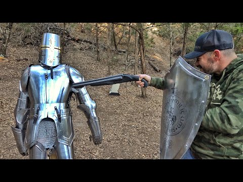 Can a Real Suit of Armor Stop a Bullet?!?!