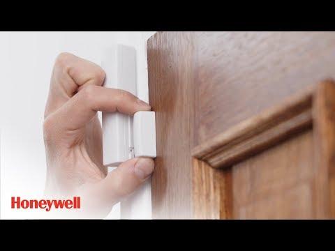 WIRELESS DOOR AND WINDOW SENSOR Installation | evohome security | Honeywell Home
